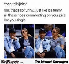 Meme Joke - when bae tells a joke funny meme pmslweb