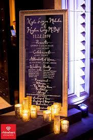 Wedding Program Board Mer Enn 25 Bra Ideer Om 冬の結婚式 席次表 一覧 På Pinterest