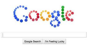 design a google logo online google doodle new interactive coloured ball design sparks web