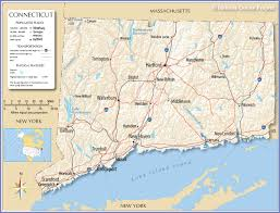 Us Map Image Reference Map Of Connecticut Usa Nations Online Project