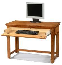 Traditional Computer Desks Hoot Judkins Desks Alder Traditional 42 Laptop Computer Writing Desk