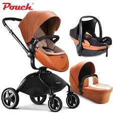 poussette si e auto marque bébé poussettes 3 en 1 bébé voiture pliante lumière bébé