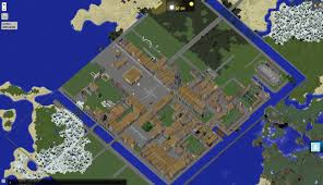 Minecraft City Maps The Dynmap Render Of My Minecraft City Imgur