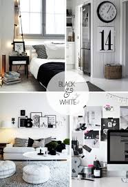 how to use black and white accessories mirrors and décor home