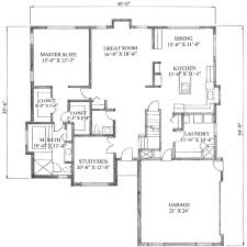 2500 Sq Ft Ranch Floor Plans by 2500 Square Foot House Plans Home Planning Ideas 2017