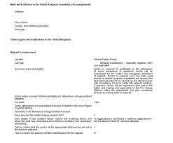 Employment Letter For Visa Uk employment letter for uk dependent visa 28 images my tier 2 work