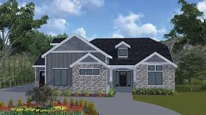 brookings a rambler style house plan walker home design