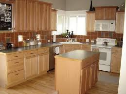 kitchen counter corner decorating ideas dark brown color wooden
