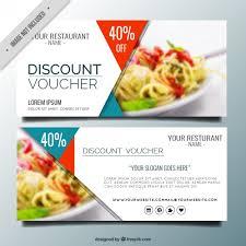 restaurant discounts современный ресторан скидки баннеры бесплатные векторы баннеры