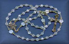 baptism rosary via rosa christening baptism rosaries and chaplets