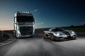 volvo commercial vans volvo trucks volvo trucks vs koenigsegg a race between a volvo