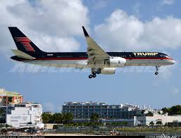 highlight of the day mr donald trump u0027s 757 arriving early morning