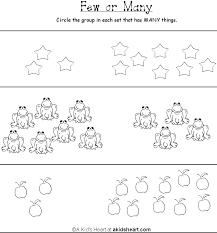 preschool printable activity comparing