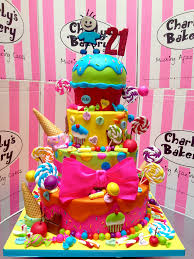 candyland birthday cake 4 tier candy land themed cross hospital trust 21st bir flickr