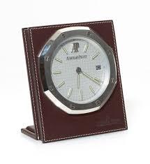 pendule de bureau pendulette de bureau signée audemars piguet réf 2645 avec cadran