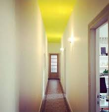 hallway yellow ceiling paint color ideas great ceiling paint