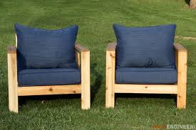 Plans For Wooden Patio Chairs by Outdoor Arm Chair Rogue Engineer