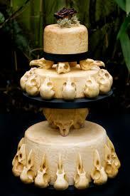 skull wedding cakes skull wedding cake
