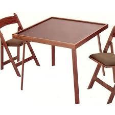 Folding Wood Card Table Wood Folding Card Table Furniture Favourites