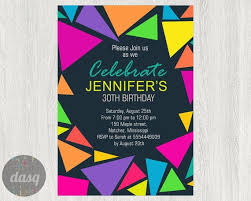hashtag neon party birthday party invitation birthday the 25 best neon party invitations ideas on neon glow