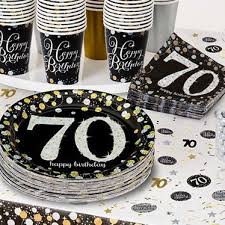 70th birthday party ideas 70th birthday party themes ideas party supplies party delights