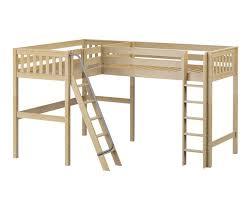 maxtrix highrise corner high loft bed bed frames matrix furniture