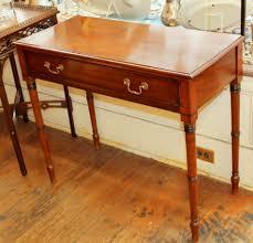Mahogany Side Table Fine Antique English Sheraton Style George Iii Mahogany Side Table
