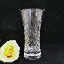 Vintage Waterford Cut Glass Crystal Vase Starburst Pattern Best Cut Glass Patterns Products On Wanelo