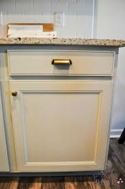 New Kitchen Cabinets We Painted Our Brand New Kitchen Cabinets And Here U0027s How It Turned