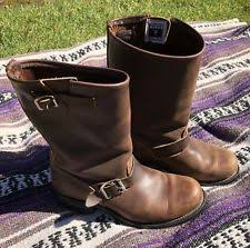 womens motorcycle boots size 9 womens engineer boots ebay