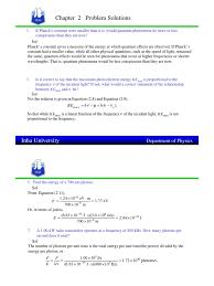arthur bieser solution chap 2 photoelectric effect electronvolt