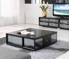 beautiful black living room table photos awesome design ideas
