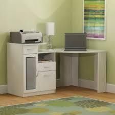 Bush Corner Desks Bush Furniture Vantage Corner Desk In White
