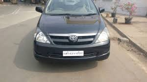 cars toyota black buy used 2008 black toyota innova g4 for sale in mumbai used