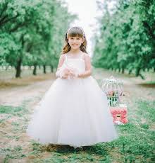 cute little flower girls dresses sparkle your wedding 2014