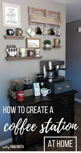 How To Design Your Own Home Bar How To Create A Diy Coffee Station At Home Coffee Bar And Kitchens