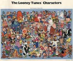 1981 looney tunes character chart