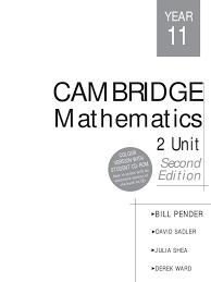 cambridge 2 unit mathematics year 11 trigonometry