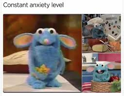 Mouse Memes - anxiety mouse from the big blue house life s game pinterest