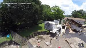 Sinkholes In Florida Map by Drone Video Shows Damage From Pasco County Sinkhole Youtube