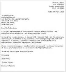internship cover letter finance by format for cover letter for