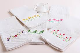 cozy and chic machine embroidery designs for kitchen towels