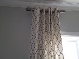 Top And Bottom Rod Curtains Best 25 Hanging Curtain Rods Ideas On Pinterest How To Hang