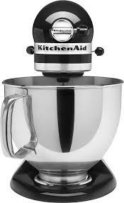kitchenaid mixer black kitchenaid ksm150psob artisan series tilt head stand mixer black