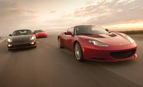 2010 chevy corvette grand sport vs 2010 lotus evora 2010 porsche