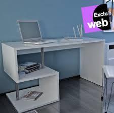 bureau blanc mat style moderne esse prix promo bureau alinéa 179 00