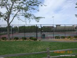 tennis and basketball courts warren township center