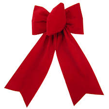 gift bows bows outdoor christmas bows outdoor berry velvet