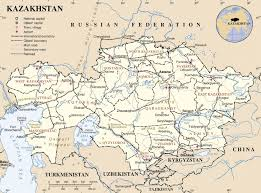 Southwest And Central Asia Map by One Belt One Road Brings New Life To Central Asia Kazakhstan In Focus