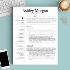 Template For Professional Resume Professional Resume Template For Microsoft Word U0026 Mac Pages
